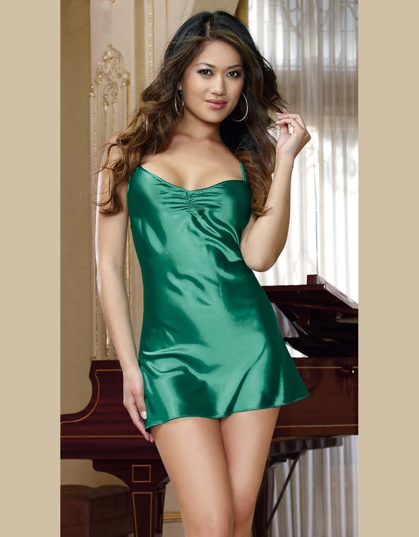 Секс в шелковый платье 9 фотография