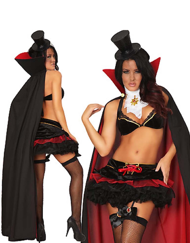 Sexy vampire halloween costume softcore actress