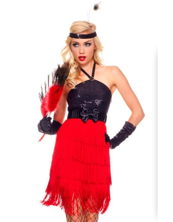 sexy Burlesque costume beauty