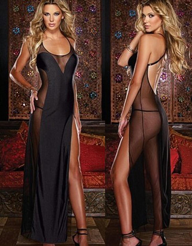 Слишком длинные сексуальные платья вот для