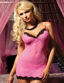 0ec0b5e64 First Kiss White Lace Chemise Lingerie Set Wonder Beauty lingerie ...