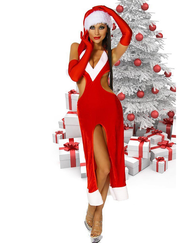 Weihnachtsfrauen Nackt