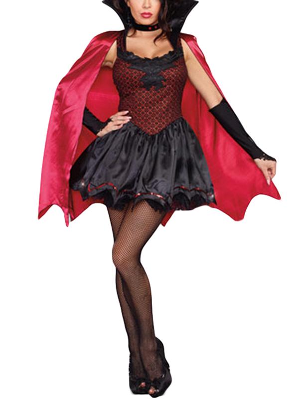 9f73a05e609 Sexy Halloween Cosplay Woman Vampire Costume Wonder Beauty lingerie ...