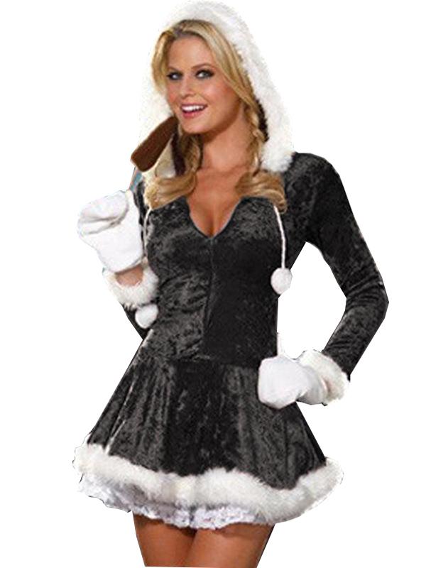 black christmas costume - Black Christmas Dress