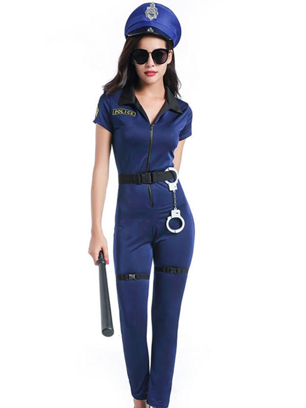 eb2d12fe0f8 Sexy Fashion Women Police Costume_Wonder Beauty lingerie dress ...