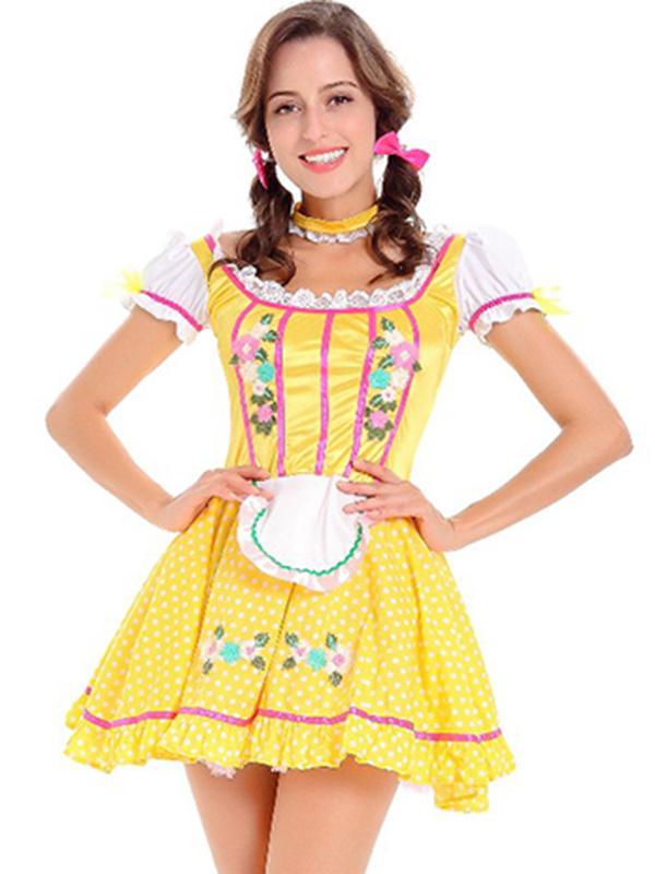 Sumptuous Beer Girl Oktoberfest Costume  sc 1 st  Wonder Beauty & Sumptuous Beer Girl Oktoberfest Costume_Wonder Beauty lingerie dress ...