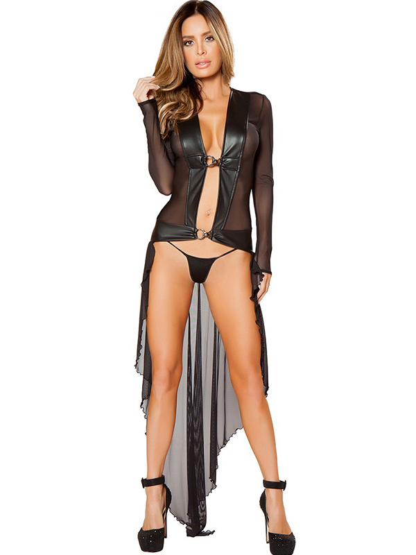 Women Long Exotic Dancer Gowns_Wonder Beauty lingerie dress Fashion ...